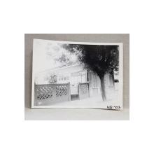 CASA DEMOLATA , STR, SEBASTIAN NR. 103 , BUCURESTI, FOTOGRAFIE MONOCROMA, PE HARTIE LUCIOASA , ANII '70  - '80