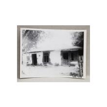 CASA DEMOLATA , STR, SEBASTIAN NR. 105 , BUCURESTI, FOTOGRAFIE MONOCROMA, PE HARTIE LUCIOASA , ANII '70  - '80