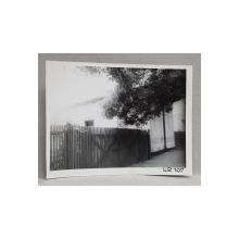 CASA DEMOLATA , STR, SEBASTIAN NR. 107 , BUCURESTI, FOTOGRAFIE MONOCROMA, PE HARTIE LUCIOASA , ANII '70  - '80