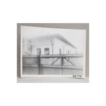 CASA DEMOLATA , STR, SEBASTIAN NR. 119 , BUCURESTI, FOTOGRAFIE MONOCROMA, PE HARTIE LUCIOASA , ANII '70  - '80