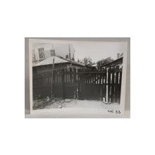 CASA DEMOLATA , STR, SEBASTIAN NR. 33 , BUCURESTI, FOTOGRAFIE MONOCROMA, PE HARTIE LUCIOASA , ANII '70  - '80