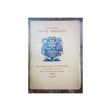CATALOGUE , GALERIE JEAN CHARPENTIER, EXPOSITION EMILE BERNARD - PARIS, 1926