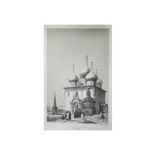 Catedrala, Septembrie, 1839 - Litografie
