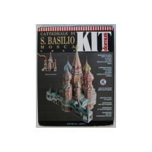 CATTEDRALE DI S . BASILIO MOSCA , U.R.S.S. , KIT ' DOMUS ' , CONTINE MACHETA CATEDRALEI 3D , SCARA 1 / 70