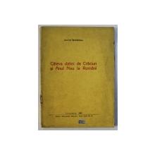 CATEVA DATINI DE CRACIUN SI ANUL NOU LA ROMANI de LEONIDA BODNARESCU , 1943