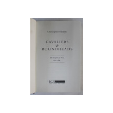 CAVALIERS and ROUNDHEADS by CHRISTOPHER HIBBERT , 1993