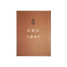 C.E.C. -CASA NATIONALA DE ECONOMII SI CECURI POSTALE  1941