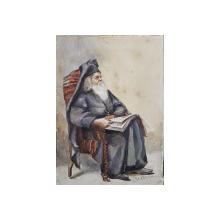 Cecile Lefebure - Patriarh Ortodox, Acuarela, cca. 1880