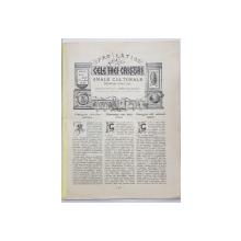 CELE TREI CRISURI  - ANALE CULTURALE , NUMAR SPECIAL , ANUL VIII , SEPT . - OCT. 1927 , LIPSA COPERTA FATA *