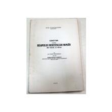 CERCETARI ASUPRA REGIMULUI PENITENCIAR ROMAN DIN VEACUL AL XIX-LEA-OVID STANCIULESCU