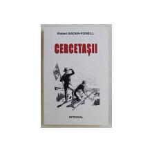 CERCETASII de ROBERTT BADEN - POWELL , 2016