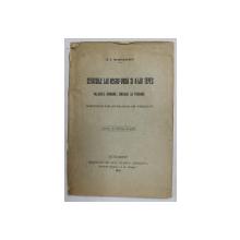CETATUILE LUI NEGRU - VODA  SI A LUI TEPES - VALURILE ROMANE BRASOE si TROIANE - SISTEME DE APARARE IN TRECUT de N. I. APOSTOLESCU , 1910