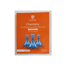 CHEMISTRY FOR CAMBRIDGE INTERNATIONAL AS and A LEVEL - COURSEBOOK by LAWRIE RYAN and ROGER NORRIS , 2020