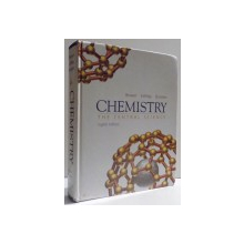 CHEMISTRY - THE CENTRAL SCIENCE , EIGHT EDITION  by THEODORE L. BROWN ... BRUCE E. BURSTEN , 2000