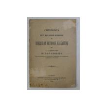 CHESTIUNEA UNUI NOU SINOD ECUMENIC AL BISERICILOR ORTODOXE RASARITENE de MIRON CRISTEA , 1920
