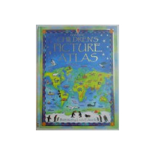 CHILDREN PICTURE ATLAS by RUTH BROCKLEHURST , ILLUSTRATED by LINDA EDWARDS
