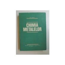 CHIMIA METALELOR de GH. MARCU , 1979