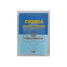 CHIMIA STIINTA A NATURII - BAZE ELEMENTARE - VOLUMUL II - CHIMIA ELEMENTELOR de GHEORGHE PETRE NEGULESCU , 2005
