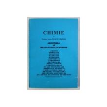 CHIMIE - ADMITEREA IN INVATAMANTUL SUPERIOR de ION MATEI - CALARASI , 1997