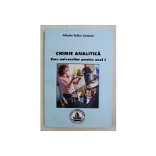 CHIMIE ANALITICA - CURS UNIVERSITAR PENTRU ANUL I de MIHAELA RODICA COSTACHE , 2007
