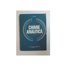 CHIMIE ANALITICA de C. NEDEA , 1979