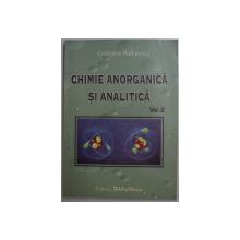 CHIMIE ANORGANICA SI ANALITICA VOL. II de CRISTIANA RADULESCU , 2007