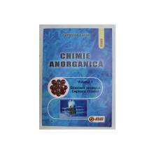 CHIMIE ANORGANICA , VOLUMUL I - STRUCTURA ATOMULUI , LEGATURA CHIMICA , PROBLEME de CORNELIA GURAN , 2007