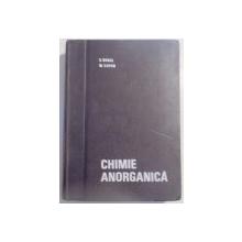 CHIMIE ANORGANICA,EDITIA A 3-A-E.BERAL,M.ZAPAN,BUC.1968