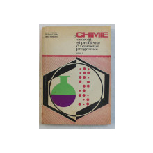 CHIMIE , EXERCITII SI PROBLEME CU CARACTER PROGRAMAT , VOLUMUL I de ELENA MAGEARU ... VASILE MAGEARU , 1975
