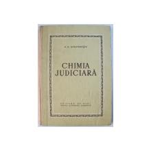 CHIMIE JUDICIARA de A. V. STEPANOV , 1954
