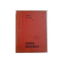 CHIMIE ORGANICA de EDITH BERAL , MIHAI ZAPAN , EDITIA A PATRA REVAZUTA SI COMPLETATA , 1969