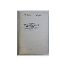 CHIMIE STRUCTURALA MODERNA - CHIMIA COORDINANTEI 8 de CORIOLAN DRAGULESCU , EMIL PETROVICI , 1977