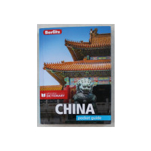 CHINA - POCKET GUIDE , WITH NEW DICTIONARY , 2019