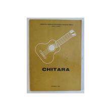 CHITARA (GAME SI ACORDURI) , 1980