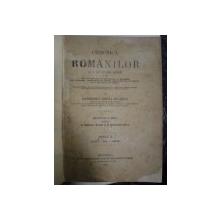 Chronica romanilor si a multor neamuri Gh.Sincai , vol.I-III , Editiunea  a doua , 1886