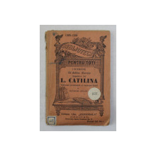 CICERONE - AL DOILEA DISCURS IMPOTRIVA LUI L. CATILINA , INCEPUTUL SEC . XX