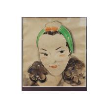 Cik Damadian (1919 - 1985) - Portret de femeie