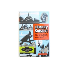 """CINE AR PUTEA FI LA ORA ASTA ? de LEMONY SNICKET , ilustratii de SETH , SERIA """" TOATE INTREBARILE GRESITE , NR. 1 , 2013"""