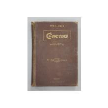 CINEMA  - REVISTA CINEMATOGRAFICA BILUNARA , ANUL I si II , COLEGAT DE 17 NUMERE APARUTE INTRE 15 OCT. 1924 - 15 IUNIE 1925, NUMERELE 1 - 12