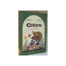CITIRE , MANUAL PENTRU CLASA A IV A de CONSTANTA ILIESCU...STELA POPESCU , 1977