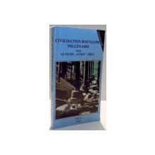 """CIVILISATION ROUMAINE MILLENAIRE DANS LE MUSEE """"ASTRA""""-SIBIU par CORNELIU BUCURE , 1995"""
