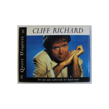 CLIFF RICHARD  ' QUOTE UNQUOTE ' by CAROLE PORTLAND , 1996