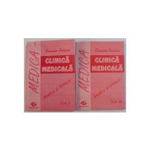 CLINICA MEDICALA  - ANALIZE SI SINTEZE de SIMION PURICE , VOLUMELE I - II , 1993