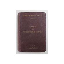 CODE DE PROCEDURE CIVILE  ANNOTE D'APRES LA DOCTRINE ET LA JURISPRUDENCE par GASTON GRIOLET et CHARLES VERGE , 1925