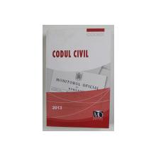 CODUL CIVIL , 2013, PRIMELE DOUA PAGINI INDOITE LA COLTUL SUPERIOR *