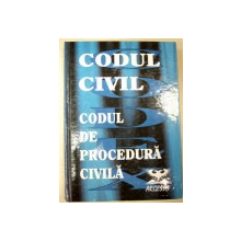 CODUL CIVIL CODUL DE PROCEDURA CIVILA-CONSTANTIN CRISU