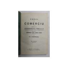 CODUL DE COMERCIU de M.A. DUMITRESCU  VOL 3