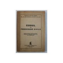 CODUL DE PROCEDURA CIVILA , 1948 , CONTINE SUBLINIERI CU MARKERUL *