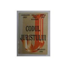 CODUL JURISTULUI-CONSTANTIN CRISU,NICORINA CRISU,STEFAN CRISU