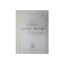 CODUL JUSTITIEI MILITARE  1948